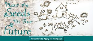 Plant the seeds to your future by applying for a mortgage today.